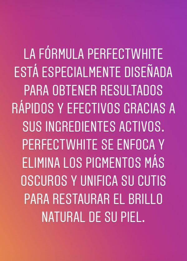PERFECT WHITE LOCION-2